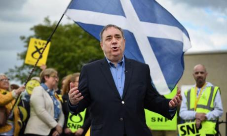 Alex Salmond denies sexual harassment allegations