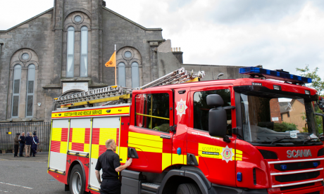 Sikh Gurdwara in Edinburgh has front doors 'petrol bombed'