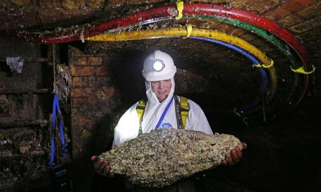 Piece of fatberg