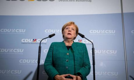 German Chancellor Angela Merkel rejects Theresa May's Chequers plan