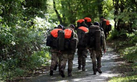 52% of Armed Forces injuries are in training, figures show