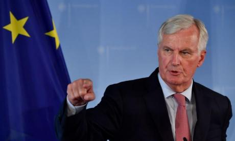 Michel Barnier says EU wants to 'de-dramatise' Irish border issue