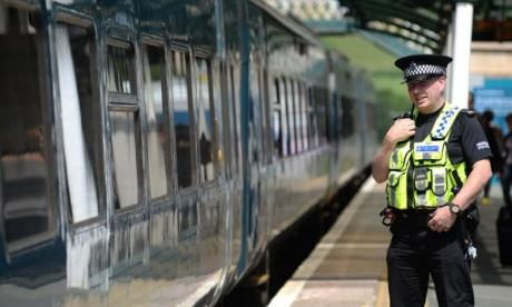 A man in his thirties was seriously assaulted by a group of teenagers at Gravelly Hill train station.