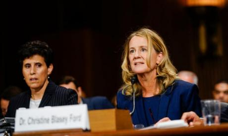 Politics' Professor about Kavanaugh case: Dr Ford is 'a woman who is making a difference'