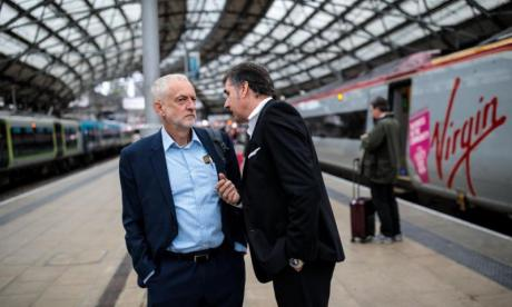 Jeremy Corbyn responds to post-conference rail disruption: 'We need public ownership of railways'