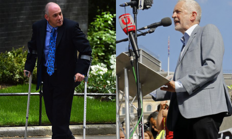 'Corbynistas' encourage 'aggressive action', says Robert Halfon on Jacob Rees-Mogg protest