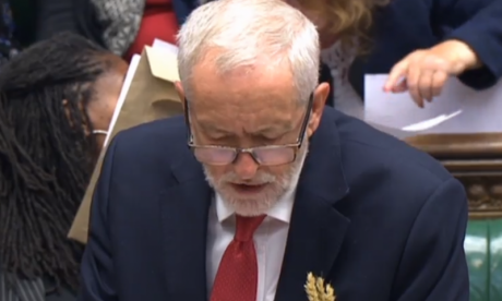 Why did Jeremy Corbyn have wheat in his pocket at PMQs?