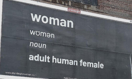 Organiser of women's poster: 'I don't think changing sex is actually possible'