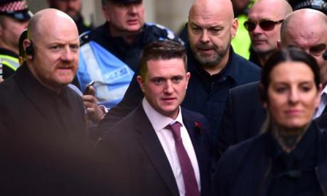 Tommy Robinson says he's victim of a 'political witch hunt'