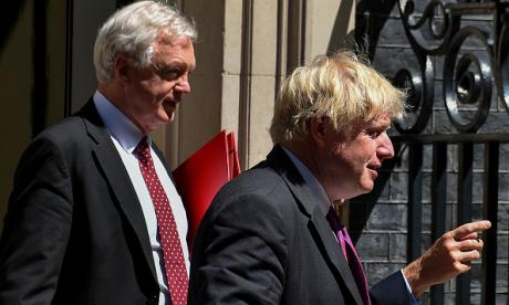 David Davis Boris Johnson