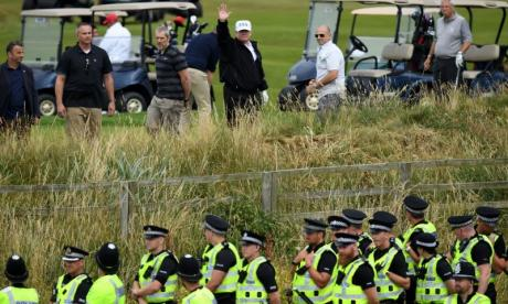 Donald Trump's UK visit cost police nearly £18 million