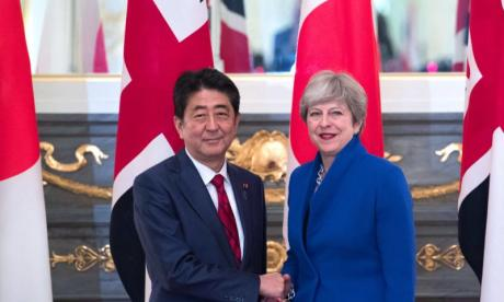 Japan would welcome UK to pacific trade bloc 'with open arms'