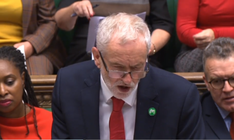Jeremy Corbyn calls on Theresa May to restore bursaries for NHS nurses