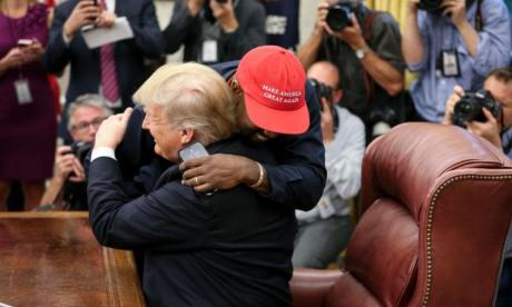 Kanye West says Donald Trump makes him feel like 'superman' during Oval Office meeting