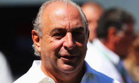 Downing Street dodges question on whether Philip Green could lose knighthood
