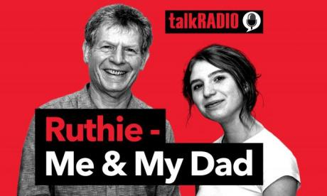 Ruthie me and my dad podcast