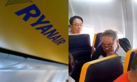 Ryanair should be 'sanctioned' for not removing 'racist' passenger, says campaigner