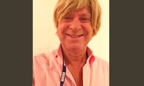 Michael Fabricant wears BBC lanyard at Conservative conference to fool Momentum protesters