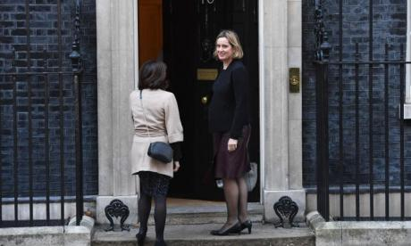 Amber Rudd returns to Cabinet as Work and Pensions Secretary