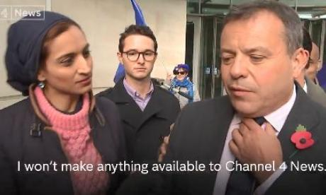 Krishnan Guru-Murthy: Arron Banks calling Channel 4 'fake news' is 'nonsense'