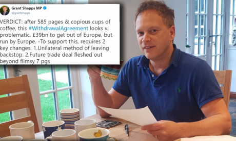 Grant Shapps mugs