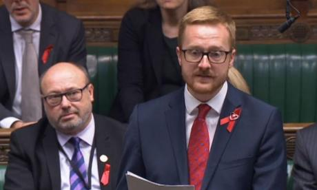 Labour MP tells House of Commons he is HIV positive because he felt 'a duty' ahead of World AIDS Day