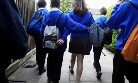 Children most at risk of being stabbed on their way home from school