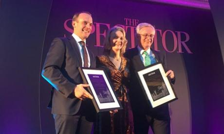 Former Brexit Secretaries Dominic Raab and David Davis win award for 'Cabinet Resignation of the Year'