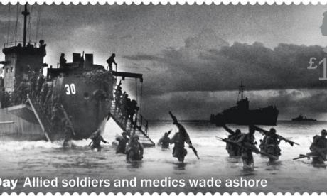 Royal Mail apologises over D-Day commemorative stamp error