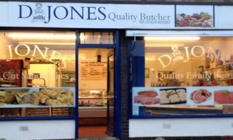 D Jones Butcher