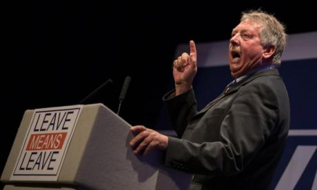 Sammy Wilson: 'DUP will withdraw our support' if May pursues deal after meaningful vote