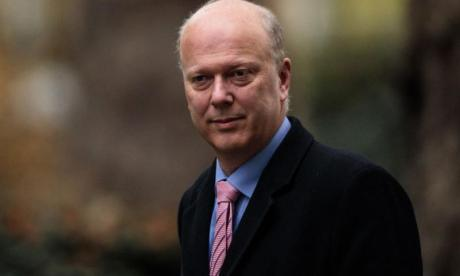 Chris Grayling warns anyone tempted by a copycat drone attack of 'tough penalties'