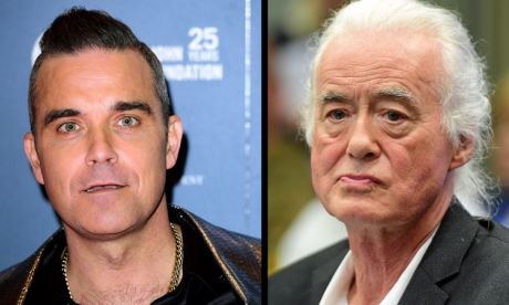 Singer Robbie Williams wins five-year planning battle against Led Zeppelin's Jimmy Page