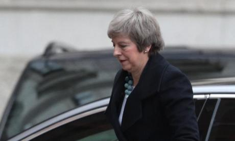 Theresa May to address MPs as historic Brexit vote is called off