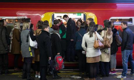 Christmas shopper face travel misery as rail workers strike