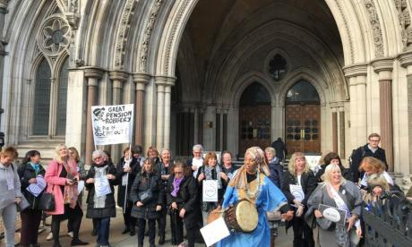 Women affected by pension changes win first step in legal challenge against the Government