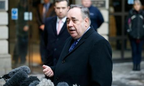 Alex Salmond charged with two counts of attempted rape and nine sexual assault charges