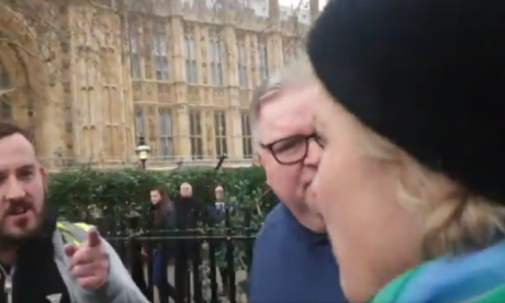 Protester filmed confronting Anna Soubry has Facebook and PayPal accounts deleted