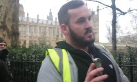 'Yellow vest' campaigner James Goddard arrested in London ahead of protest