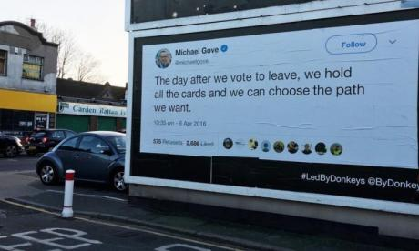 Michael Gove poster