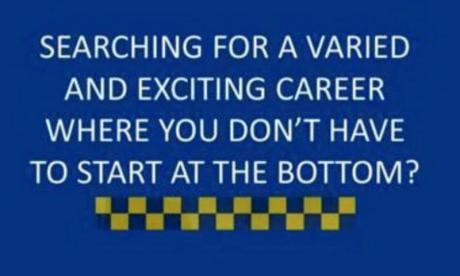 Police remove 'offensive' job advert after backlash from frontline officers