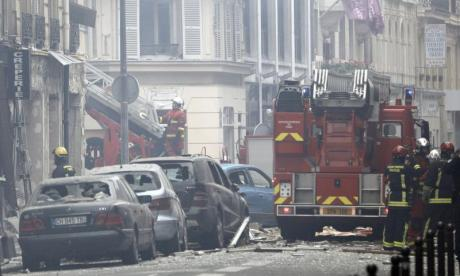 'Several people injured' after explosion in Paris