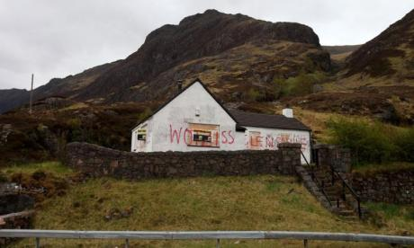 Tourist board VisitScotland shares picture of Jimmy Savile's house on Instagram