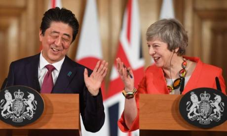 Japanese Prime Minister says 'whole world' wants UK to avoid no-deal Brexit