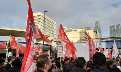 Southwark Protest