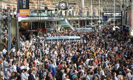 UK rail user satisfaction at 10-year-low