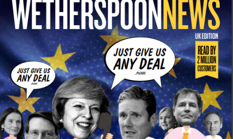 Wetherspoon's news magazine found to be ripping off full columns from other newspapers