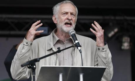EXCLUSIVE: Jeremy Corbyn called for European Union to be 'defeated' in explosive rally speech