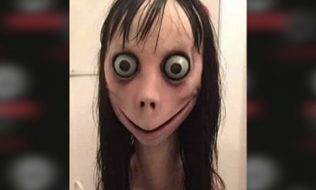 Momo challenge panic is 'a storm in a teacup'