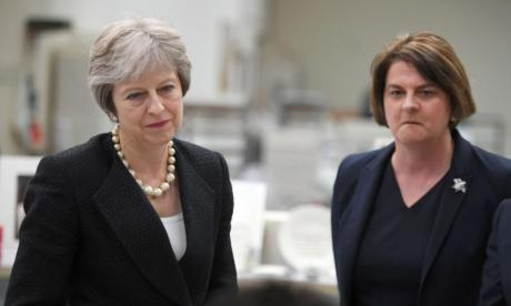Theresa May promises to deliver Brexit that 'honours' UK's commitments to Northern Ireland